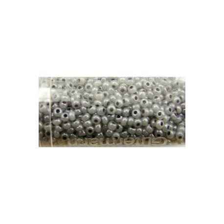 Gutermann rocailles 9/0 grijs glanzend ca. 28gr