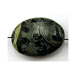 Natuursteen 12mm wit-groen 3st