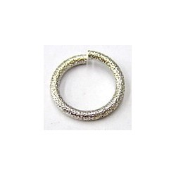 Rhodium ring 20mm zilverkl. p.st