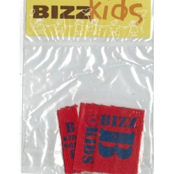 Applicatie Bizz Kids 1x50mm en 1x15mm rood