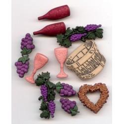 3D elementen de wijngaard