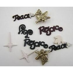 3d elementen vrede op aarde
