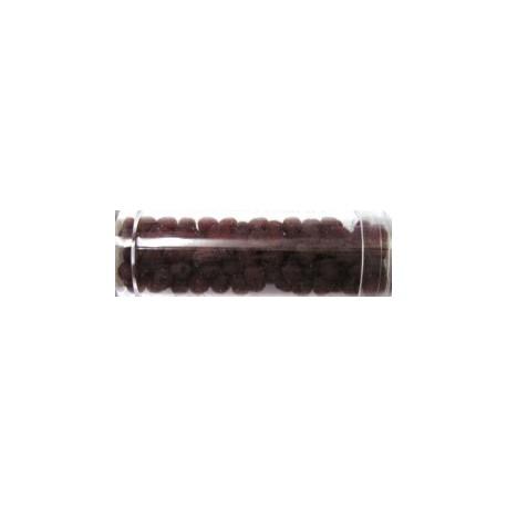 Gutermann facetkraal 4mm d.rood mat 130st