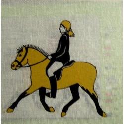 "Borduurpakket Paard draven"""""