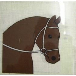 """Borduurpakket Paardenhoofd rechts"""""""""""