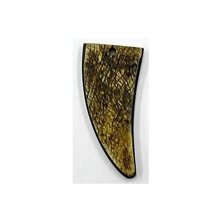 hanger van hoorn tandvorm 67mm p.st