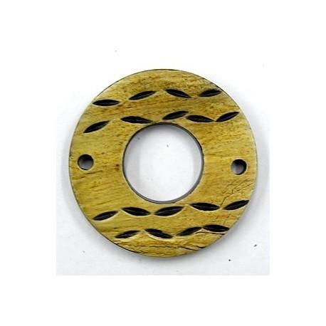 hanger van hoorn rond bewerkt 49mm p.st