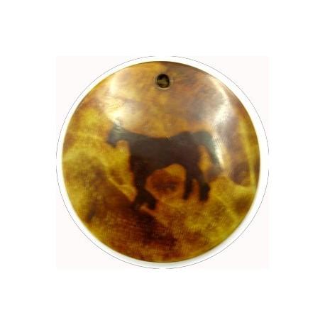 hanger van hoorn rond paard 49mm p.st