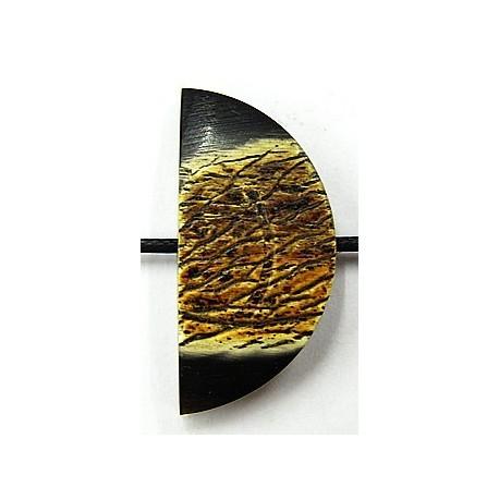 hoornen kraal 13mm p.st