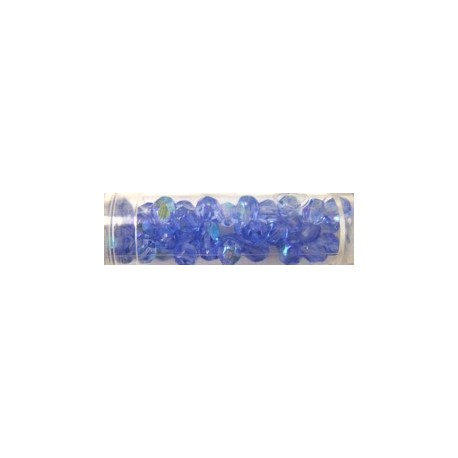 Gutermann facetkralen 6mm l.blauw AB 40st
