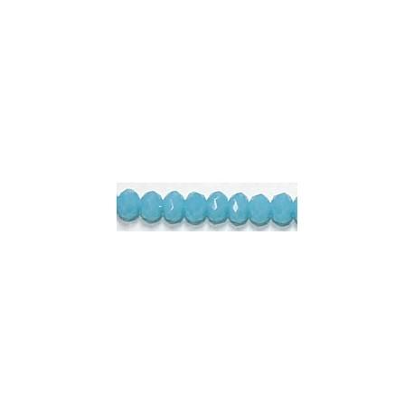 Facetkr disc 3x2,5mm turquoise ca.35cm ca 140kr.