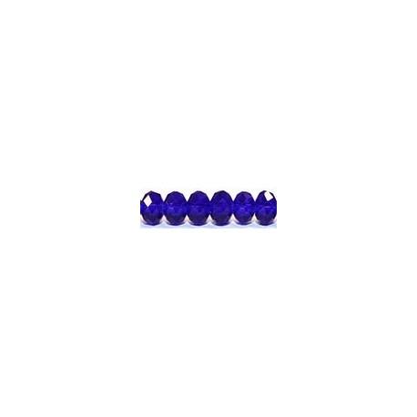 Facetkr disc 4,5x6 d.kobalt str. 41cm ca 100 kr.