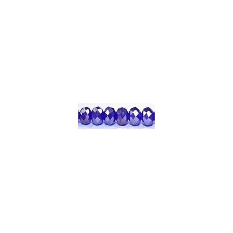 Facetkr disc 4,5x6 d.kobalt AB 41cm ca 100 kr.