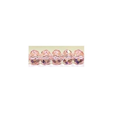 Facetkr disc 8,5x12 rosaline 35 stuks