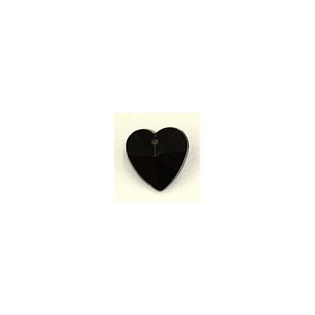 Facethart 15mm zwart per stuk