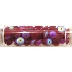 Gutermann diskparels 6mm rood AB 80st
