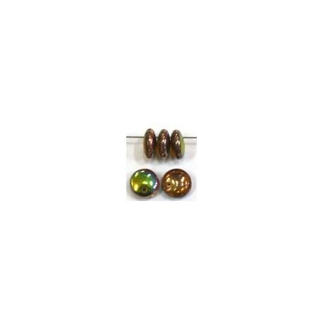 Lentils 6mm hangend l. amathist/vitex 50st.