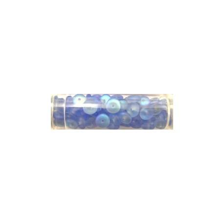 Gutermann diskparels 6mm lichtblauw AB 80 st