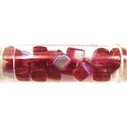 Gutermann blokje 8mm rood AB ca 16st