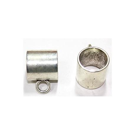 Metalen kraal 20mm oog 17mm met hangoog