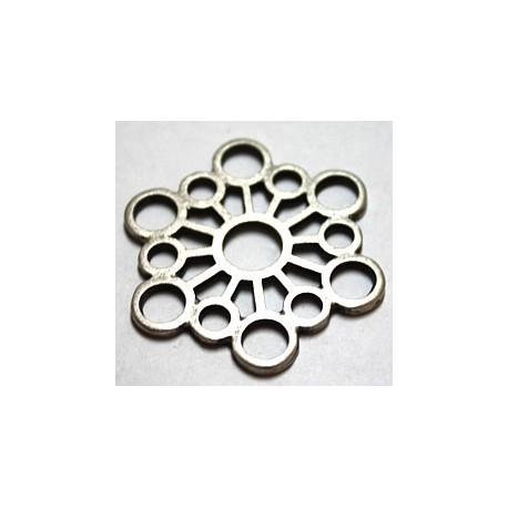 Hanger/tussenstuk26mm zilverkl. per stuk
