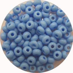 Rocailles 5/0 licht blauw 25 gram