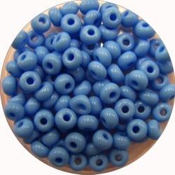 Rocailles 5/0 blauw 25 gram