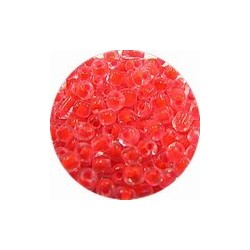 Rocailles 5/0 transp. rose kern 25 gram