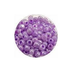 Rocailles 5/0 lila gelusterd 25 gram