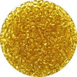 Rocailles 7/0 transparantlichtbruin 25 gram