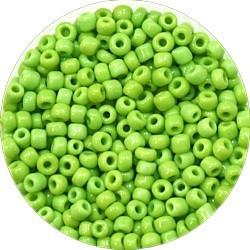 Rocailles 7/0 groen 25 gram