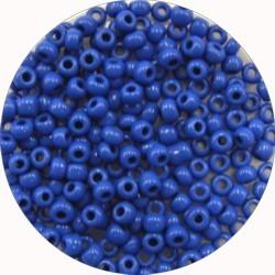 Rocailles 8/0 mat donkerblauw 25 gram