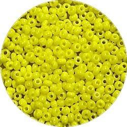 Rocailles 10/0 helder geel 25 gram