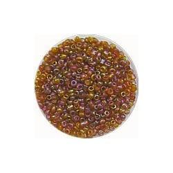 Rocailles 10/0 zalm olieglans ca 50gram