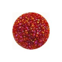 Rocailles 10/0 rood olieglans ca 50gram
