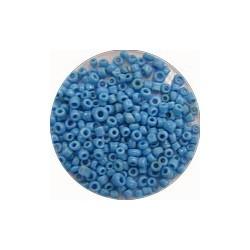 Rocailles 10/0 blauw opaque ca 50gram