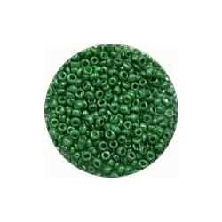 Rocailles 10/0 groen opaque ca 50gram