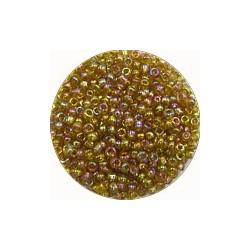 Rocailles 10/0 transp bruin olieglans ca 50gram