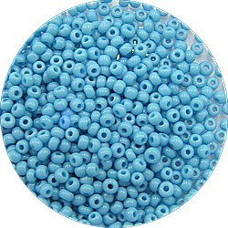 Rocaille 11/0 midden turkoois 25 gram