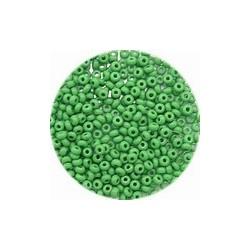 Rocailles 11/0 groen 25 gram