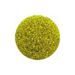 Rocailles 11/0 geel zilverkern 25gr.
