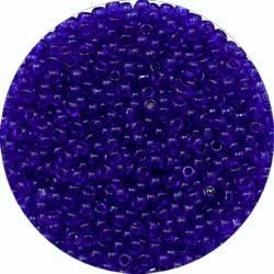 Rocailles 12/0 donker transp. blauw 25gram