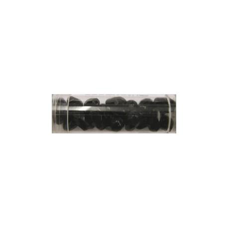 Guterman facetdruppel 10mm zwart ca. 20st