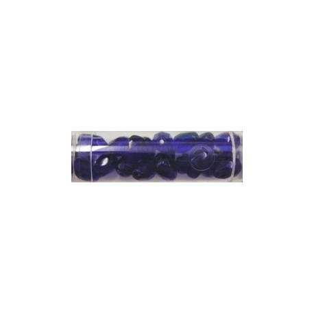 Guterman facetdruppel 10mm donkerblauw ca. 20st