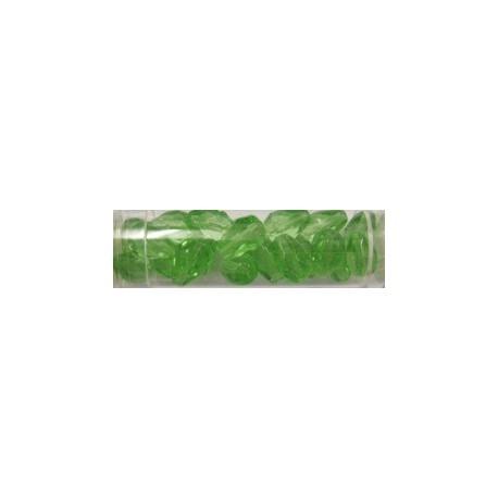 Guterman facetdruppel 10mm licht groen ca. 20st