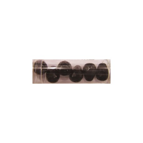 Guterman facetdruppel 13mm donkerrood 6st