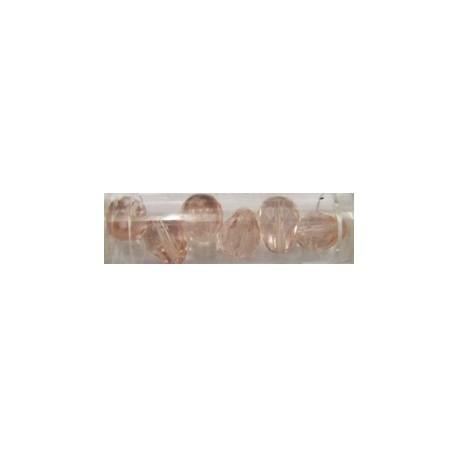 Guterman facetdruppel 13mm roze 6st