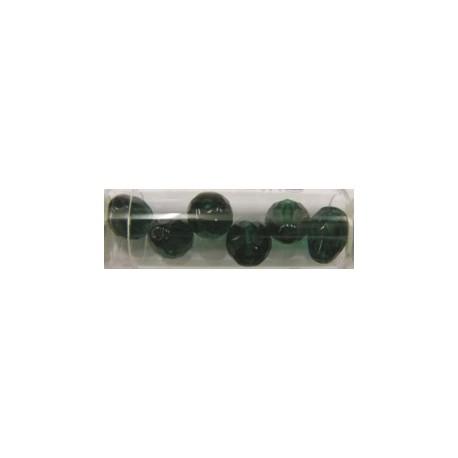 Guterman facetdruppel 13mm donkergroen 6st