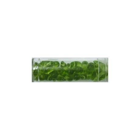 Gütermann druppels 5mm groen 32st