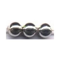 Parels 10mm rond zilver 10 st